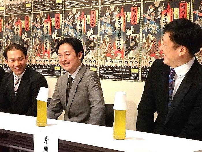 左から、千次郎、千壽、松十郎