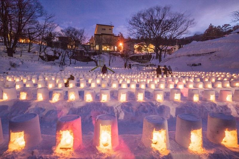 青根温泉雪祭り(川崎町)「tohoku365.com」より
