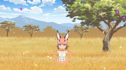 『けものフレンズ2』PV第1弾より (C)けものフレンズプロジェクト2A