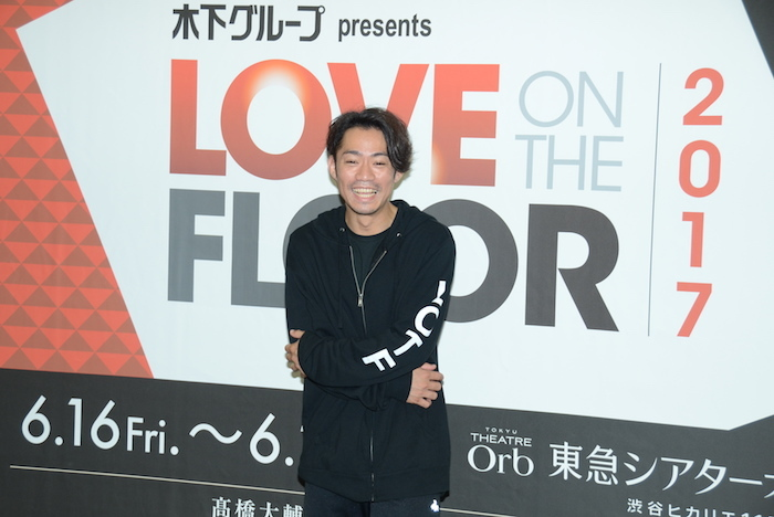 『LOVE ON THE FLOOR』で主演を務める高橋大輔