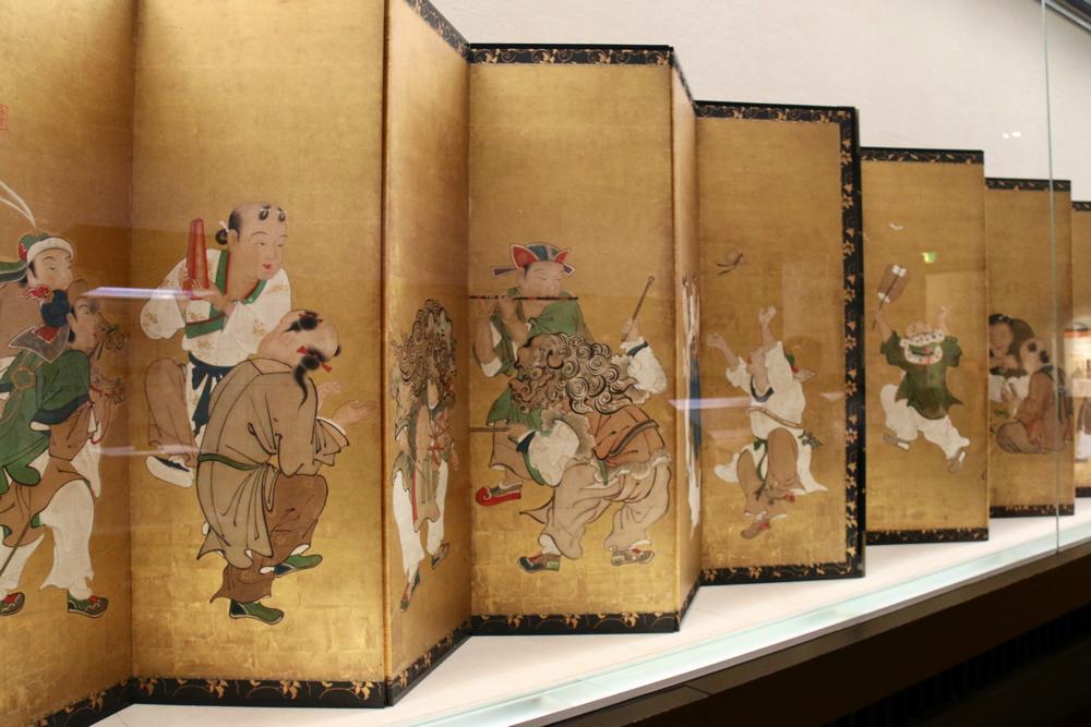 唐子遊図屛風 狩野探幽筆 江戸時代・17世紀 宮内庁三の丸尚蔵館蔵