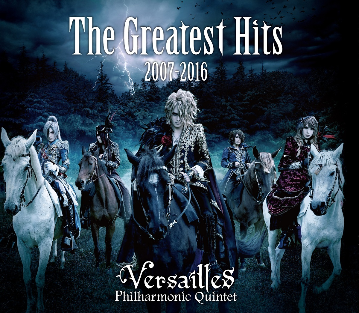 Versailles『The Greatest Hits 2007-2016』初回盤