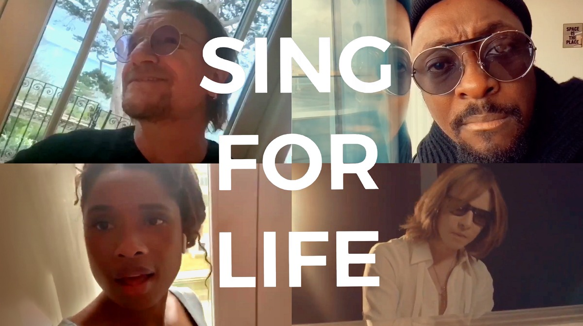 『#SING4LIFE - Featuring Bono, will.i. am, Jennifer Hudson and Yoshiki』