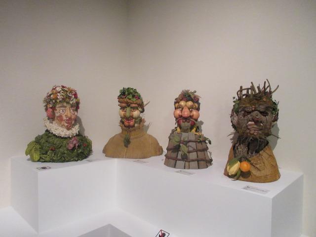 展示会場の後半では、現代美術作家、フィリップ・ハースの作品展示も!