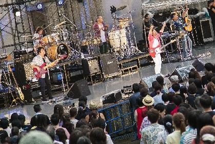 スターダスト☆レビュー、Blu-ray/DVD『STARDUST REVUE 楽園音楽祭 2017 還暦スペシャル in大阪城音楽堂』のリリースを発表