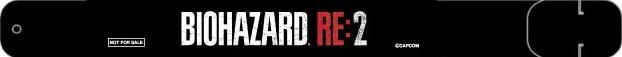 会場限定『バイオハザード RE:2』オリジナルUSBリストバンドデザイン