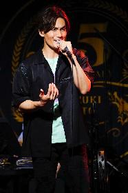 加藤和樹、15周年ライブ第一弾『Kazuki Kato KK-station 2021~Bravo!!~』3日間で合計65曲を披露 新曲の配信リリースも発表に