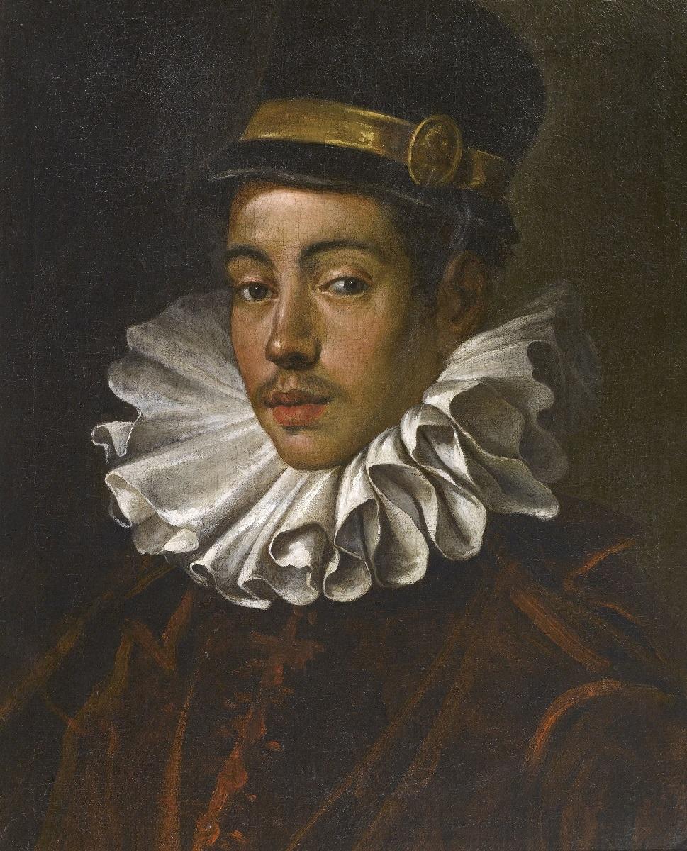 ドメニコ・ティントレット《伊東マンショの肖像》 1585年 トリヴルツィオ財団