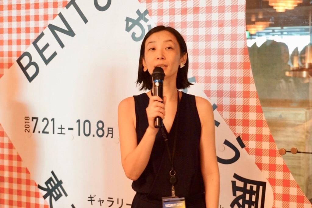 本展担当・東京都美術館学芸員の熊谷香寿美氏。