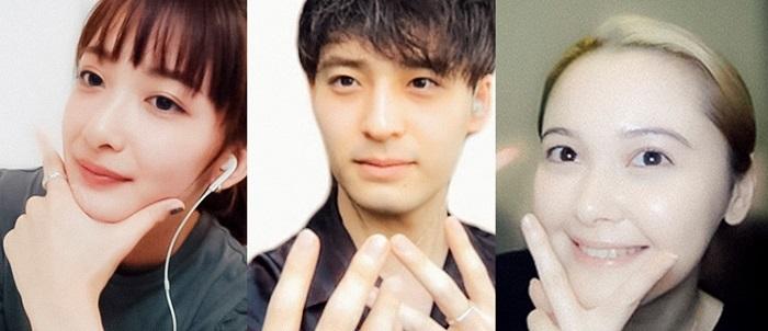 (左から)長屋晴子、小林壱誓、玉城ティナ