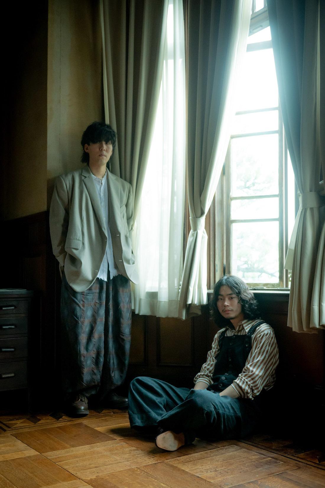 野田洋次郎、菅田将暉 Photo by Takeshi Yao
