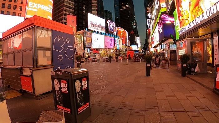 3月のマンハッタンの様子(撮影:小野功司)