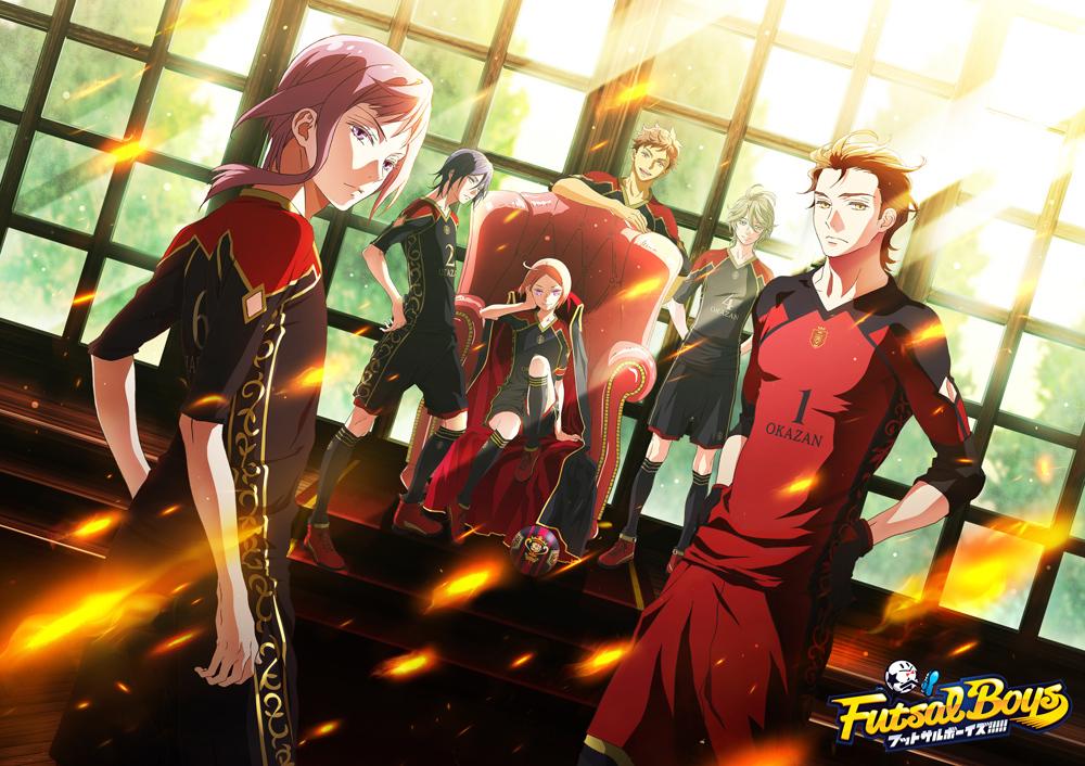 皇花山学園キービジュアル (C)FUTSAL BOYS!!!!! ORIGINAL WORK