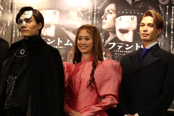 (左から)加藤和樹、愛希れいか、廣瀬友祐