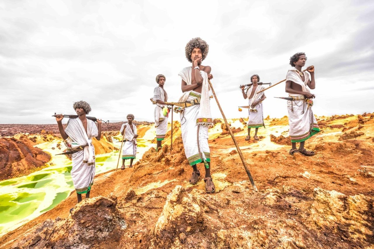 「COSMIC AFROS」 アファール族(エチオピア)