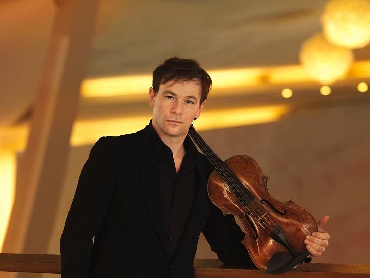 ベルリンフィルの第1ソロ・ヴィオラ奏者 アミハイ・グロス (c)Sebastian Hanel