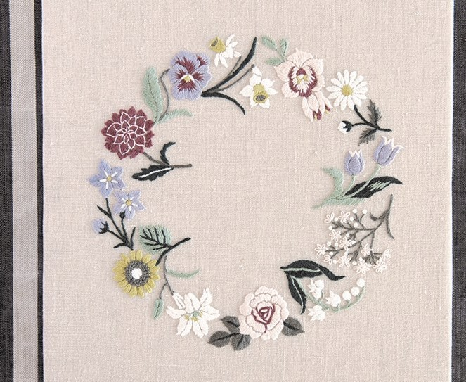 蓬莱和歌子「大人の花刺繍」日本ヴォーグ社