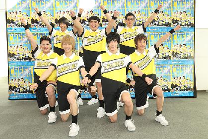 本田礼生、古田一紀らがチアリーディングで全力の笑顔! Live Performance Stage「チア男子!!」ゲネプロレポート