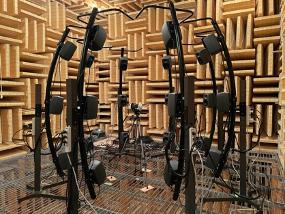 無響空間での立体音響収録