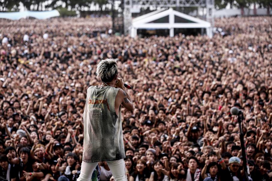 ONE OK ROCK  撮影=hajime kamiiisaka