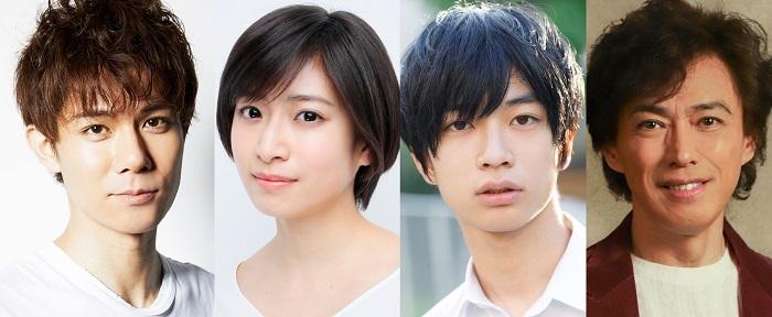 (左から)柿澤勇人、南沢奈央、須藤蓮、石井一孝