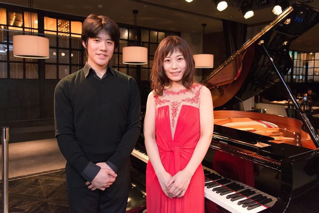 伊藤悠貴(チェロ)、福原彰美(ピアノ)