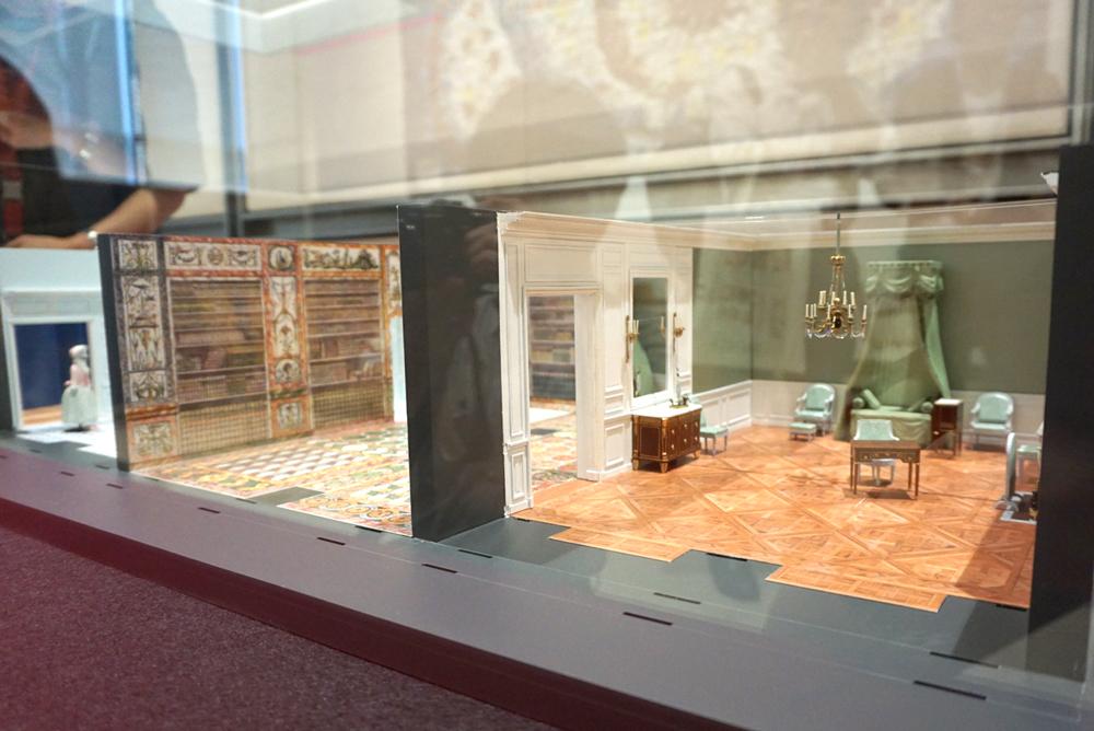 原寸大で再現される『プチ・アパルトマン』の完成予想模型(居室)