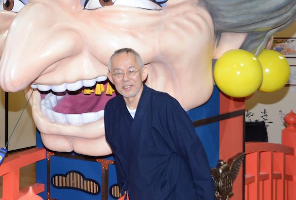 開幕前日のフォトセッションに登場した鈴木敏夫