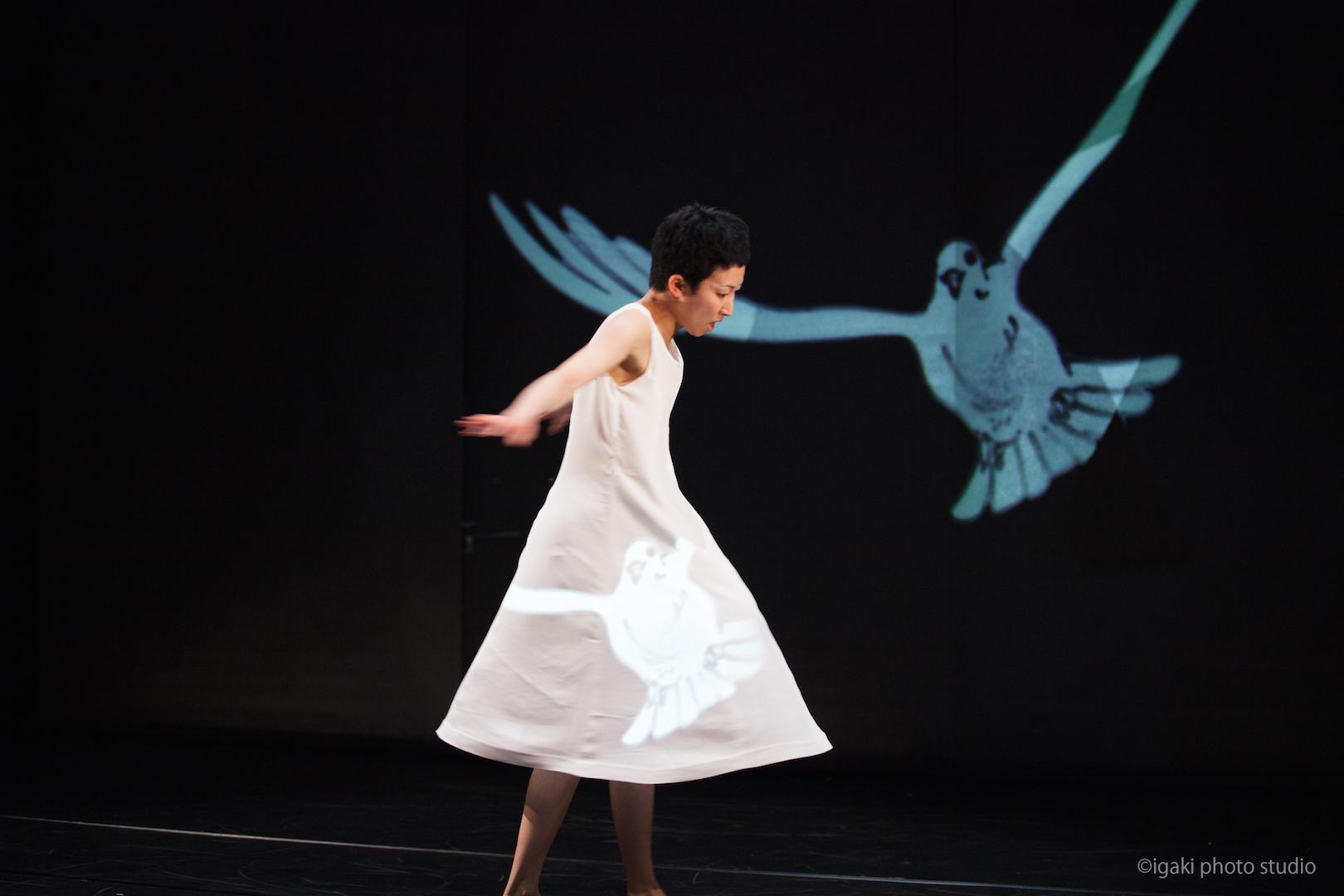 映像芝居『錆からでた実』ショーイング風景@城崎国際アートセンター ©igaki photo studio