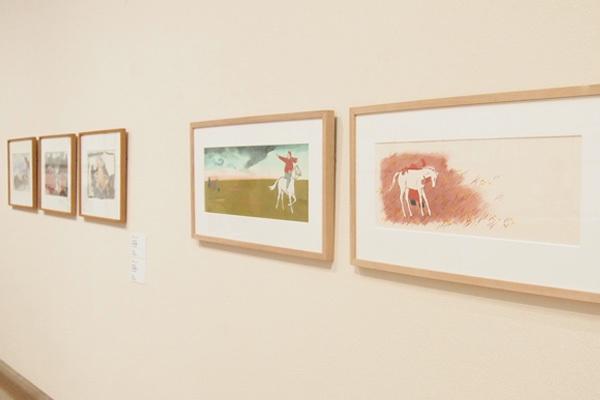 赤羽末吉《スーホの白い馬》1967年 ちひろ美術館蔵 ⓒSuekichi AKABA