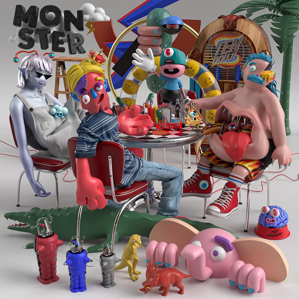 TENDOUJI アルバム『MONSTER』