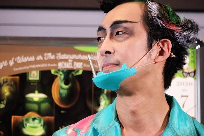 北村さんのマスクに注目!