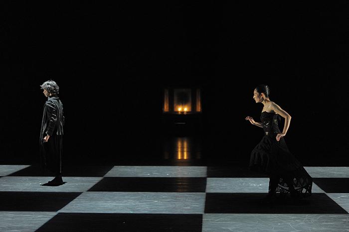 『Shakespeare THE SONNETS』 中村恩恵、首藤康之 撮影:鹿摩隆司