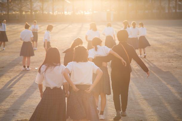 「ライトブルー」MV撮影の様子。(photo by 山口雄太郎)
