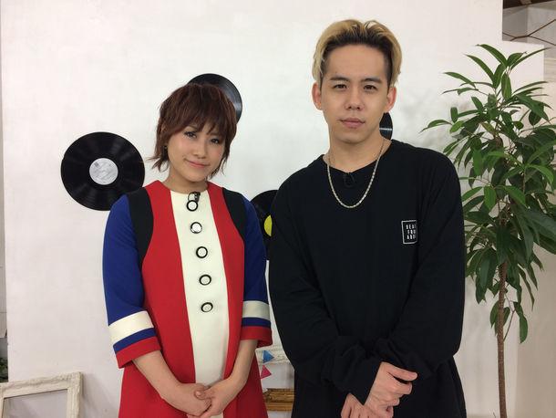左からIMALU、清水翔太。 (c)テレビ朝日