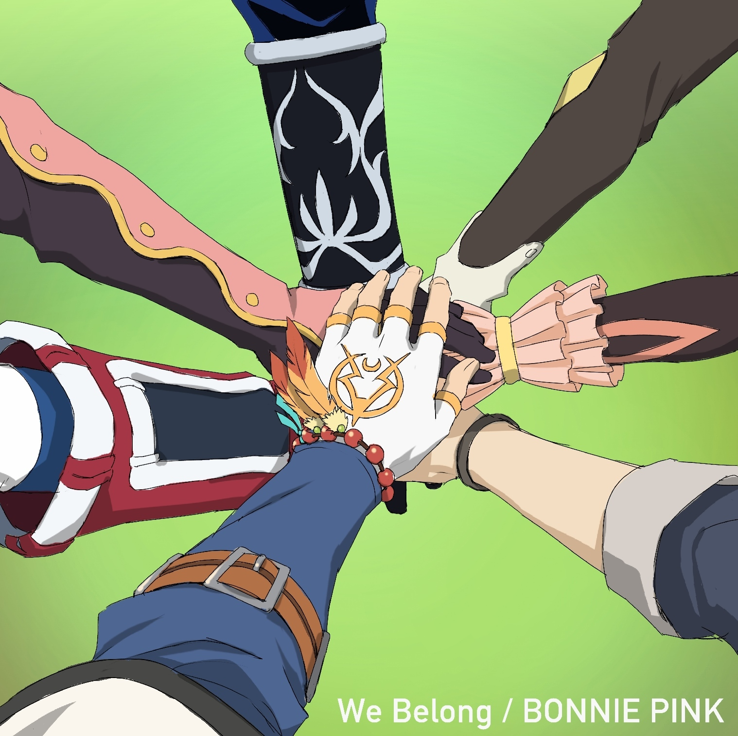 BONNIE PINK「We Belong」 ©いのまたむつみ ©藤島康介 ©BANDAI NAMCO Entertainment Inc.