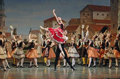 牧阿佐美バレヱ団「ドン・キホーテ」ベテラン&期待の新人、2組のペアが踊るコメディタッチのバレエ