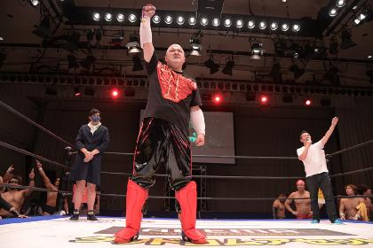 DDTプロレスリング『Get Alive 2021』は10/12開催! 声優の稲田徹が来場
