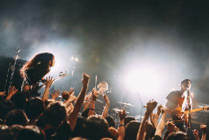 「淘汰されないために」Age Factory、東京で「RIVER」収録曲熱演