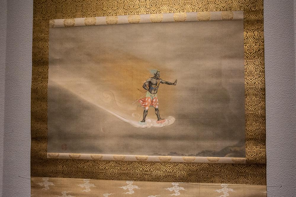 下村観山《不動明王》1904(明治 37)年頃 山種美術館