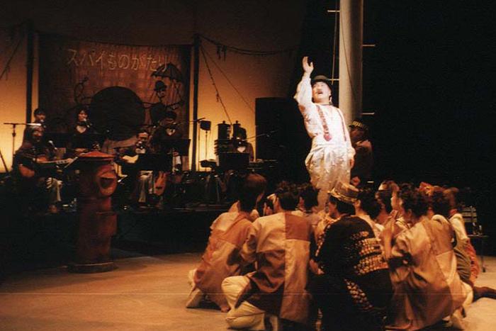 常田富士男さん 『スパイものがたり』(1997年、再演)より