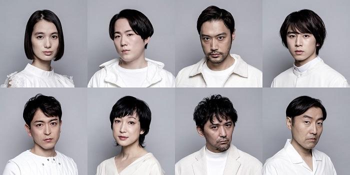 『三人吉三』出演者8人ビジュアル  (C)吉次史成