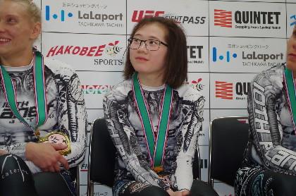 桜庭和志プロデュース「QUINTET」初の女子大会で山本美憂一本負け MVPは16歳のメガネ女子か