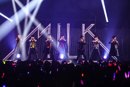 M!LK、新体制初となる4周年記念ワンマンライブをレポート 来年2月にアルバム発売も発表