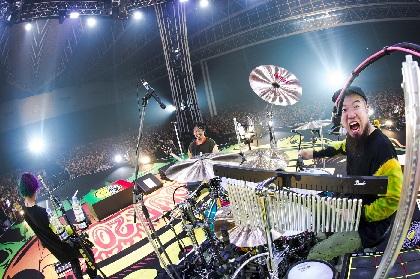 45,000人が大熱狂! WANIMA、『Everybody!!Tour』幕張メッセ2DAYS公演完遂