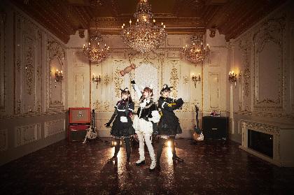 ×ジャパリ団、最強メタルメンツ提供のメタルソング揃いのメジャーデビューアルバム『×・×・×』発売決定