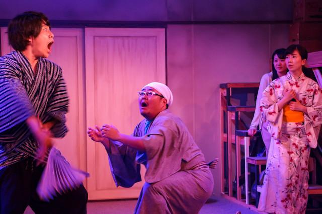 Theatre劇団子 劇団創立25周年記念 33rd act「どのツラ下げて」より。