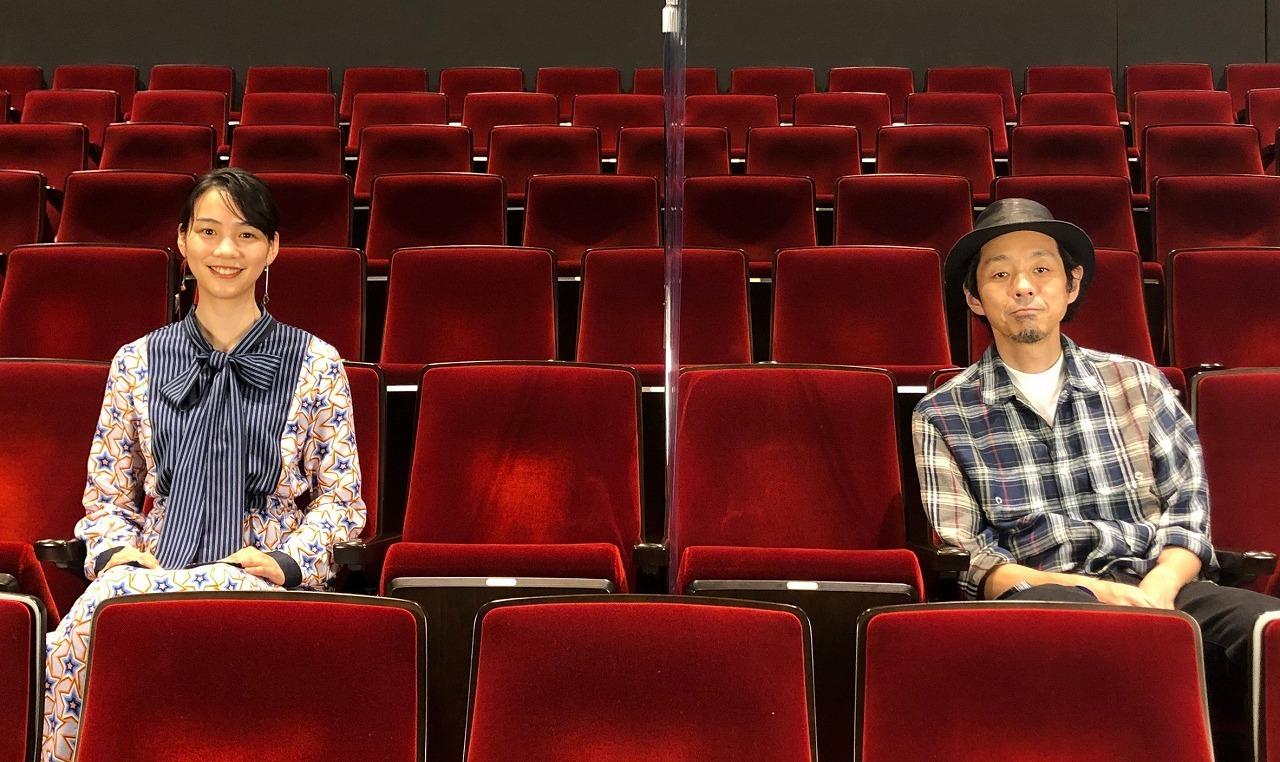 (左から)のん、宮藤官九郎