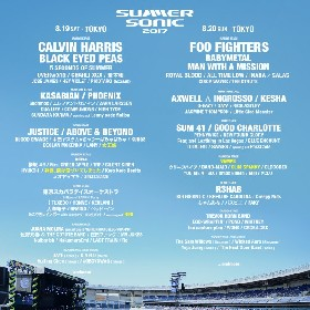 『SUMMER SONIC』第14弾出演発表でVAMPS、感エロ、グリム、 神様、僕は気づいてしまった ら全7組