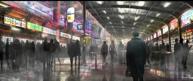 公開されている『ブレードランナー 2049』コンセプトアート